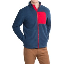 Kavu Baker Fleece Jacket (For Men) in Ink Blue - Closeouts