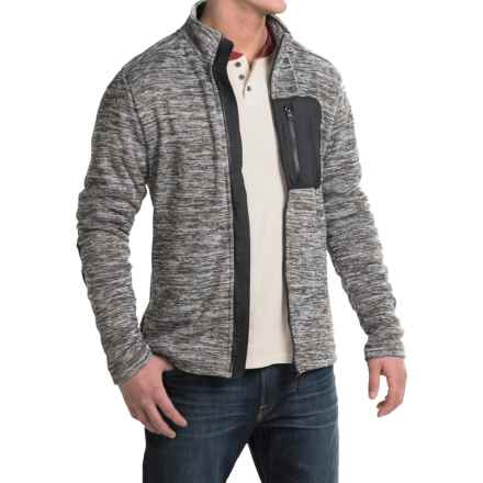 Kavu Baker Fleece Jacket (For Men) in Smoke - Closeouts