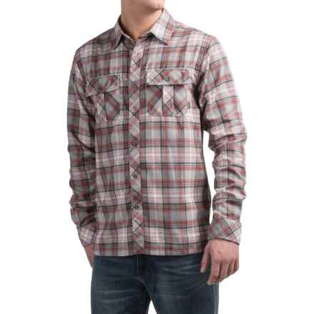 Kavu Basin Shirt - UPF 30+, Long Sleeve (For Men) in Brick - Closeouts