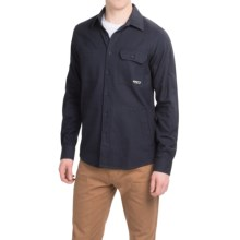 Kavu Berwin Twill Shirt - Long Sleeve (For Men) in Midnight - Closeouts