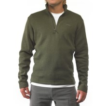 Kavu Big Al Pullover Sweater - Zip Neck, Long Sleeve (For Men) in Forest - Closeouts