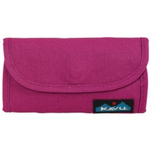Kavu Big Spender Wallet in Magenta - Closeouts