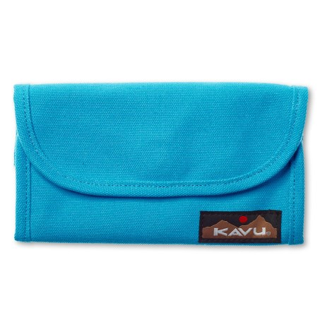 Kavu Big Spender Wallet in Maliblue