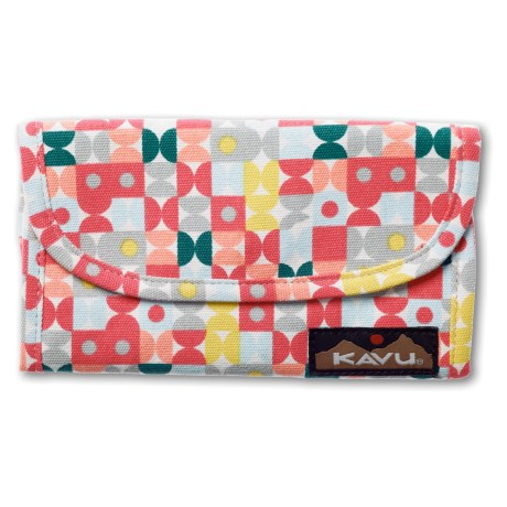 Kavu Big Spender Wallet in Toy Blocks