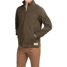 Kavu Big Timber Canvas Jacket (For Men) in Military Green - Closeouts