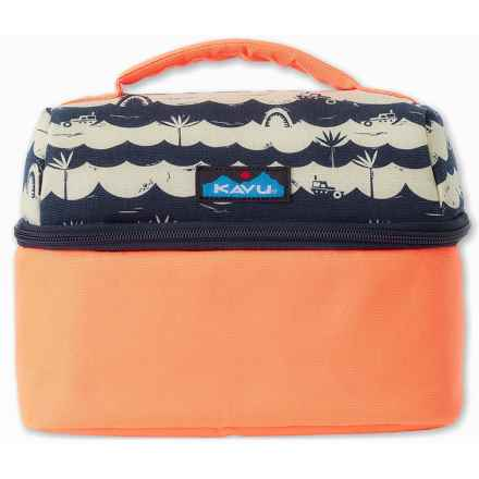Kavu Break Time Lunch Cooler (For Women) in Shark Bait - Closeouts