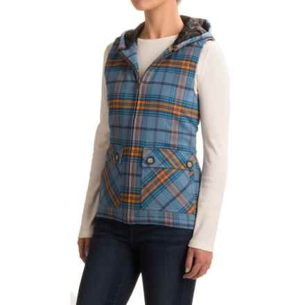 Kavu Campout Flannel Vest (For Women) in Westcoast - Closeouts