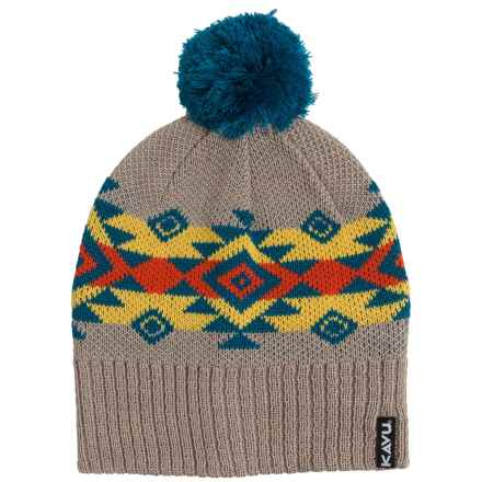 Kavu Canyon Beanie - Merino Wool Blend (For Men and Women) in Southwest - Closeouts
