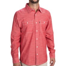 Kavu Charlestown Shirt - Button Front, Long Sleeve (For Men) in Red - Closeouts