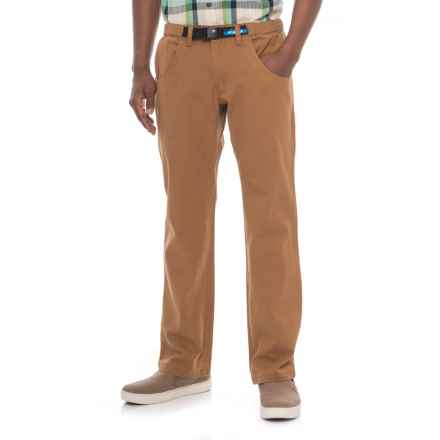 Kavu Chilliwack Pants - Straight Leg (For Men) in Tobacco - Closeouts