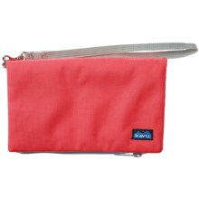 Kavu Clutch-N-Go in Strawberry - Closeouts