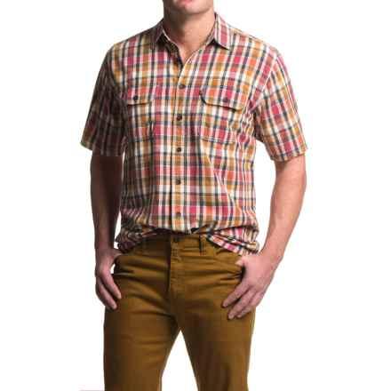 Kavu Coastal Shirt - Short Sleeve (For Men) in Americana - Closeouts