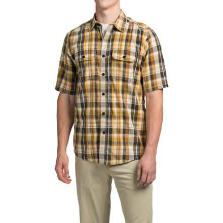 Kavu Coastal Shirt - Short Sleeve (For Men) in Desert - Closeouts