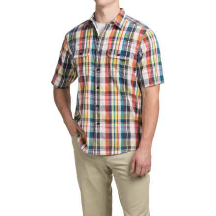 Kavu Coastal Shirt - Short Sleeve (For Men) in Preppy - Closeouts