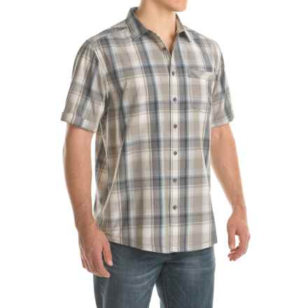 Kavu Corbin Shirt - Short Sleeve (For Men) in Overcast - Closeouts