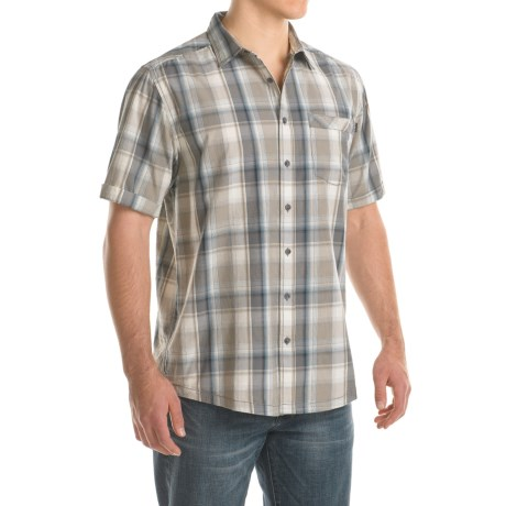 Kavu Corbin Shirt - Short Sleeve (For Men) in Overcast