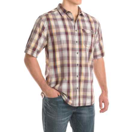 Kavu Corbin Shirt - Short Sleeve (For Men) in Terrain - Closeouts