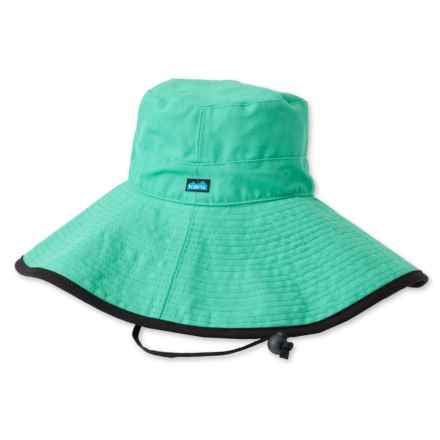 Kavu Cotton Long Brim Hat (For Women) in Cockatoo - Closeouts