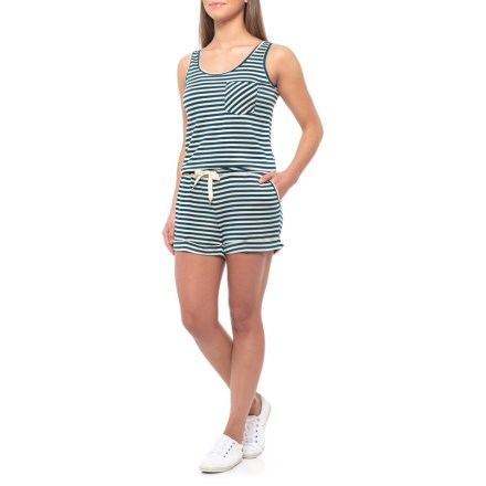 b61bd0dab714 Kavu Doris Stripe Romper - Sleeveless (For Women) in Legion - Closeouts