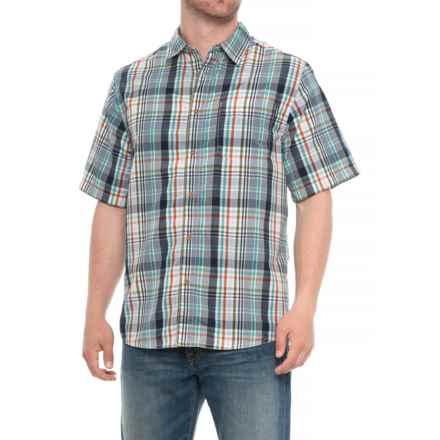 Kavu Duxbury Shirt - UPF 30+, Short Sleeve (For Men) in Baltic - Closeouts