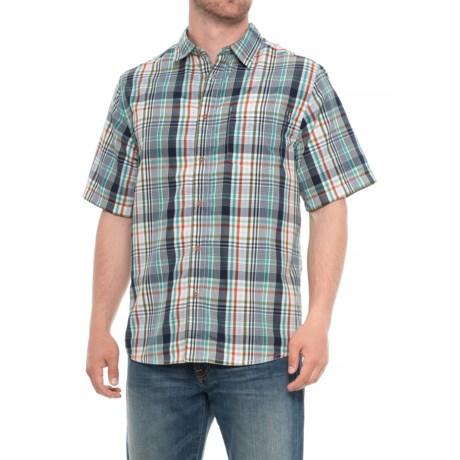 Kavu Duxbury Shirt - UPF 30+, Short Sleeve (For Men) in Baltic