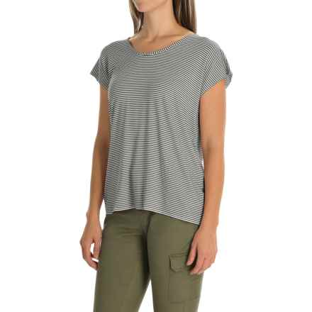 Kavu Eleanor Shirt - Scoop Neck, Sleeveless (For Women) in Black N White - Closeouts