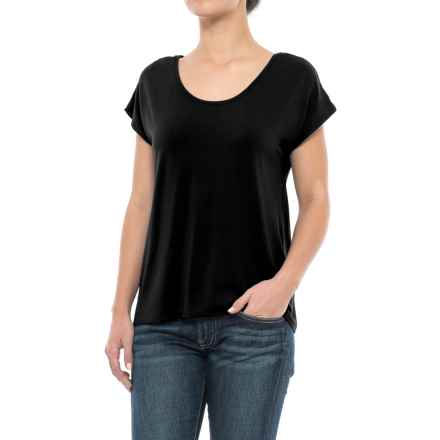 Kavu Eleanor Shirt - Scoop Neck, Sleeveless (For Women) in Black - Closeouts