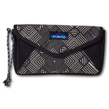 Kavu Envylope Clutch (For Women) in Stone Maze - Closeouts