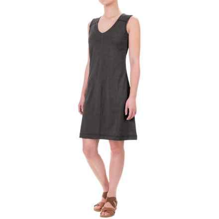 Kavu Eve Dress - Sleeveless (For Women) in Black Smoke - Closeouts