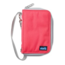 Kavu Fast Kash Wallet in Strawberry - Closeouts