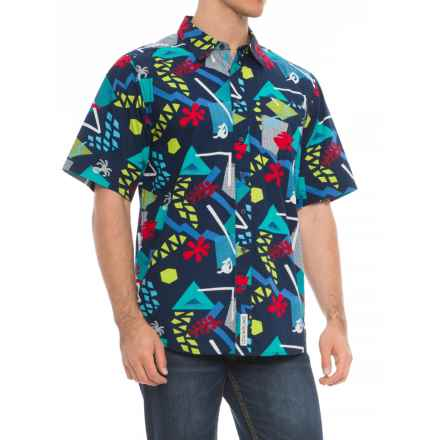 Kavu Festaruski Shirt - Short Sleeve (For Men) in Bananas - Closeouts