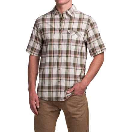 Kavu Goodman Shirt - UPF 30+, Short Sleeve (For Men) in Desert - Closeouts