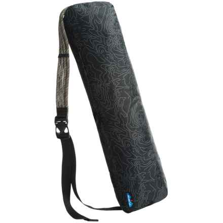 Kavu Guru Yoga Mat Bag in Black Topo - Closeouts