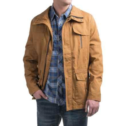 Kavu Helmsman Jacket - Cotton (For Men) in Tobacco - Closeouts