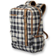 Kavu Highland Backpack (For Women) in Black/White Plaid - Closeouts