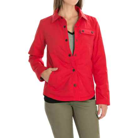 Kavu Huntress Jacket - Insulated (For Women) in Red - Closeouts