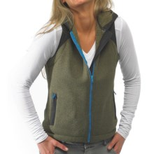 Kavu Kanaka Fleece Vest - Zip Front (For Women) in Avocado - Closeouts
