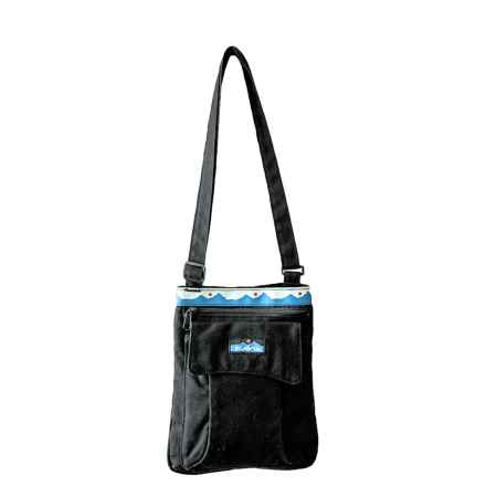 Kavu Keeper Purse in Black - Closeouts