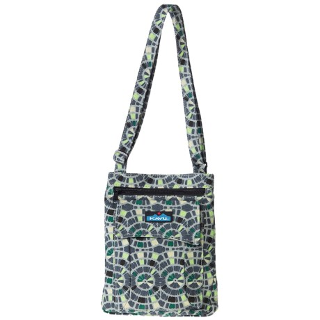 Kavu Keeper Purse in Garden Path