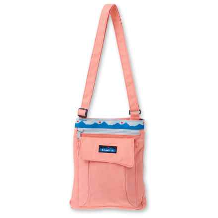 Kavu Keeper Shoulder Bag (For Women) in Coral - Closeouts