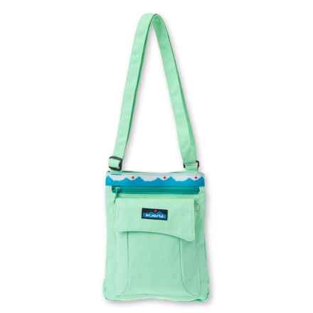 Kavu Keeper Shoulder Bag (For Women) in Seafoam - Closeouts