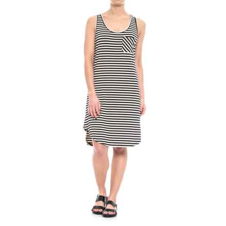 Kavu Leonora Scoop Neck Dress - Sleeveless (For Women) in Cookies N Creme - Closeouts