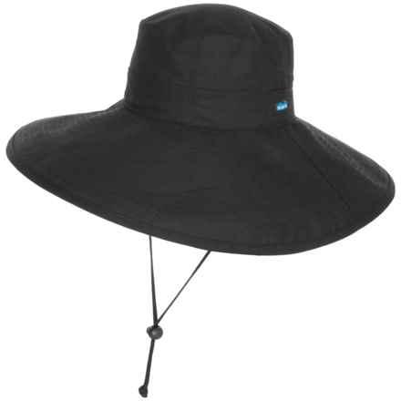 Kavu Long Brim Sun Hat (For Women) in Black - Closeouts