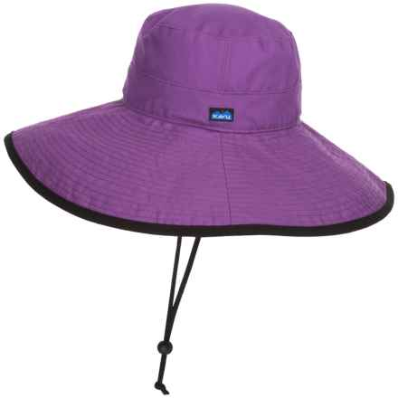 Kavu Long Brim Sun Hat (For Women) in Purple - Closeouts