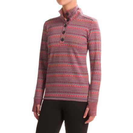 Kavu Lopez Shirt - Long Sleeve (For Women) in Alpine - Closeouts