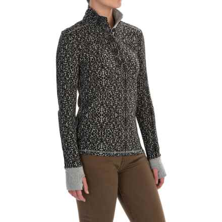 Kavu Lopez Shirt - Long Sleeve (For Women) in Black - Closeouts