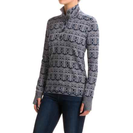 Kavu Lopez Shirt - Long Sleeve (For Women) in Navy - Closeouts