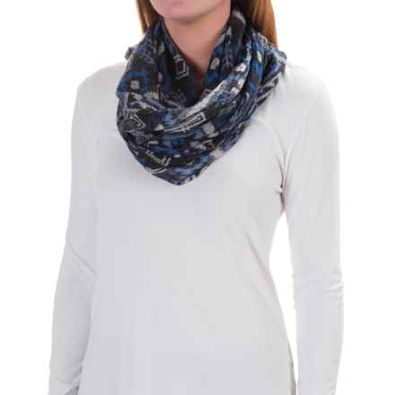 Kavu Lou Lou Scarf - Viscose (For Women) in Blue Ikat - Closeouts
