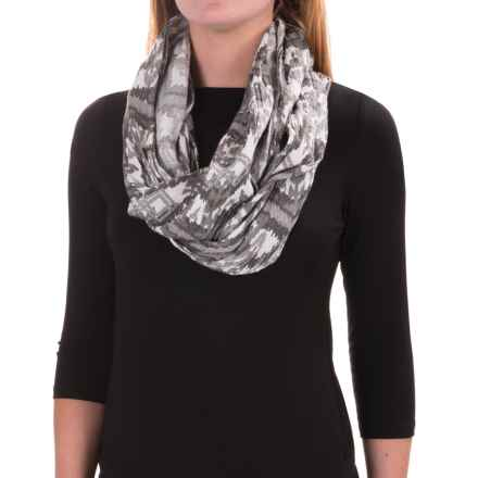 Kavu Lou Lou Scarf - Viscose (For Women) in Grey Ikat - Closeouts