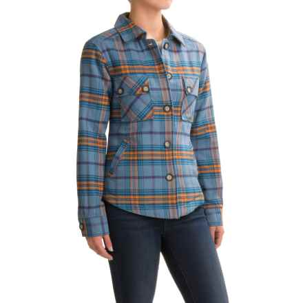 Kavu Lowlands Lined Flannel Shirt Jacket (For Women) in Westcoast - Closeouts